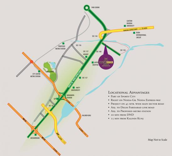 Buy Samridhi Luxuriya flats at the most luxurious sector in Noida, Sector 150