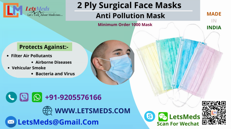 2 Ply Mask Price in India