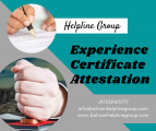 Experience Certificate Attetstation in Bahrain
