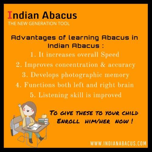 Indian Abacus - Online Coaching Classes