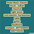 Home classes for music learn vocal and instruments