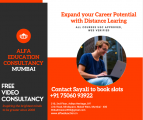 DISTANCE LEARNING COURSES SSC HSC BACHELORS MASTERS CALL SAYALI 75060 93922